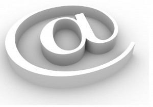 e-mail symbole