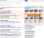 emplacement des annonces google shopping