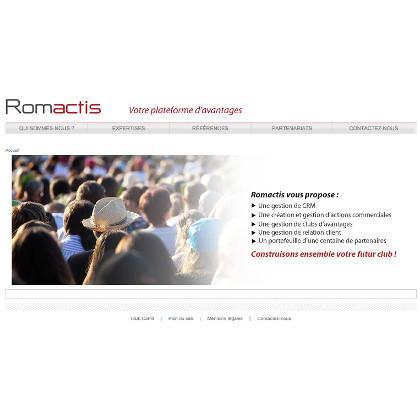 Romactis plateforme clubs d'avantages