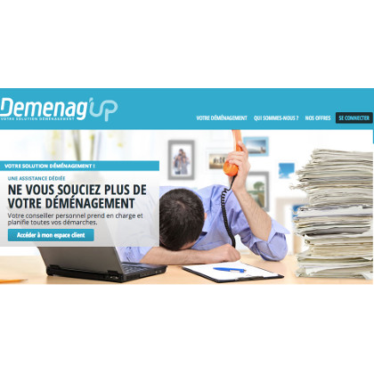 site web demenag up