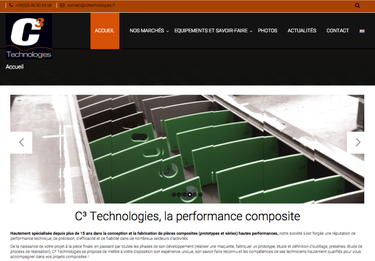 site web c3 Technologies