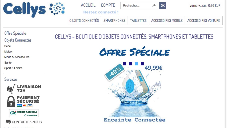 site web cellys
