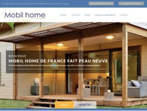 location vente mobil home chalet